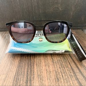 QUAY AUSTRALIA Coolin 50mm Polarized Sunglasses